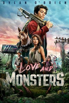 Love and Monsters Best Horror Movies, New Movies, Jessica Henwick, Michael Rooker, Audio Latino, Love Monster, Best Movie Posters, Best Horrors, Movie Releases
