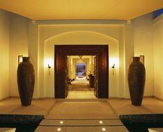 Enter the timeless Spa at the Al Maha Dubai Desert.