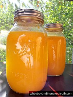 Lacto-Fermented Orange Juice - Whey Beyond the Naked Truth