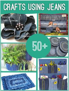 50+ Things You Can Make From Old Jeans:)