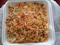 #Box lunch/Deli #Lunchbox from  Panda Chinese Restaurant    Shrimp  #Fried Rice   #Lunch plus plenty leftover for my Preteen FOODIE Princess  We #Eat #Lo