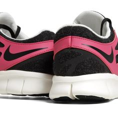 Nike Free Run 2+ EXT (Black & Fireberry)