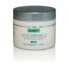 Anti Wrinkle Anti Aging w Collagen 2 Oz by Lawrens *** Details can be found by clicking on the image.