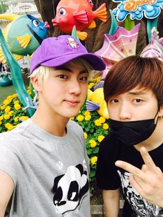 BTS Twitter [160621] Trans @BTS_twt :Everyone, when it's hot, go to an amusement park!! [Jin]