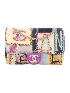 Chanel Classic Jumbo Patchwork Flap Bag