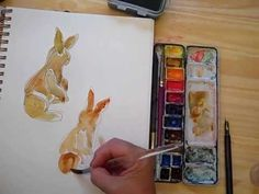▶ Watercolor Sketching - Part 3 - with Cathy Johnson - YouTube