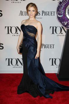 Anna Kendrick in Donna Karan Atelier at the Tony Awards 2013 Red Carpet