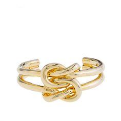 double knot bracelet at j crew