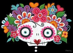 Catrina Skelly by Pink-Ivy
