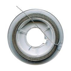 Compra nuestros productos a precios mini Hilo de hierro para joyas 0,45 mm Plateado - 10 metros - Entrega rápida, gratuita a partir de 89 € !
