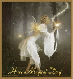 Good Morning! This day belongs to you! Make it everything you want it to be! Today allow yourself to experience the world as truly magical. I am wishing you the most wonderful, beautiful, awesome, blessed day! Many blessings, Cherokee Billie