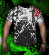 APOCALYPSE MMA T Shirts TARGET TERMINATED MMA Shirt