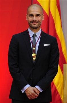 Pep Guardiola. I will miss seeing him on the Barca sideline :( <3