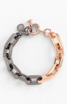 Mini Links Bicolor Bracelet