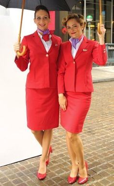 One day I hope to be in their shoes. My Dream: Cabin Crew with Virgin Atlantic