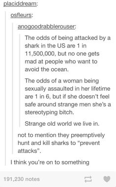 SHARKS ARE THE WOLVES OF THE SEA- THEY BOTH ARE KILLED BECAUSE PEOPLE THINK THEY WOULD ATTACK THEM
