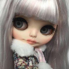 Natasa custom winter Blythe doll by FABBLED