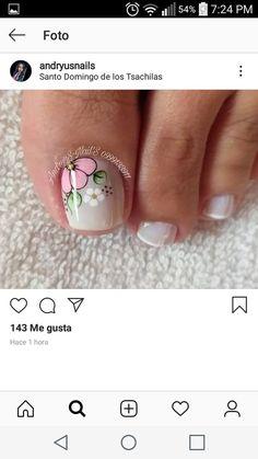 Toe Nail Designs, Blue Nails, Manicure, Hair Beauty, Make Up, Nail Art, Pretty Pedicures, Toe Nail Art, Nail Arts