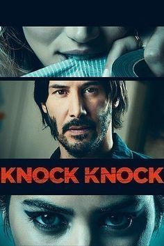 When a devoted husband and father is left home alone for the weekend, two stranded young women unexpectedly knock on his door for help. What starts out as a kind gesture results in a dangerous seduction and a deadly game of cat and mouse. A sexy new thriller from director Eli Roth, Knock Knock stars Keanu Reeves as the family man who falls into temptation and Lorenza Izzo and Ana de Armas as the seductresses who wreak havoc upon his life, turning a married man's dark fantasy into his worst…