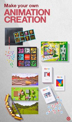 These innovative gifts bring kids' art to life—literally. Here's how it works: your child draws or designs something, scans it with a smartphone or tablet, and voilà! Their own instant animation. Great gifts this Christmas for creative thinkers and never-ending doodlers.