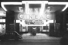 Cineac Cinémas Bruxelles années 60