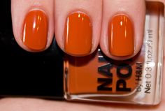 Loving this orange color!.. hmm.. maybe paired with my vintage Broncos tee and destroyed denim :0)