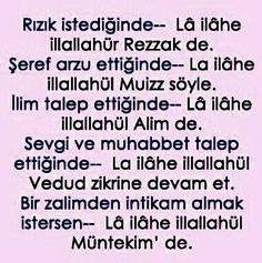 This post was discovered by Meltem Kılınç. Discover (and save!) your own Posts on Unirazi. Allah Islam, Biro, S Word, Karma, Diy And Crafts, How To Memorize Things, Prayers, Erdem, Quran