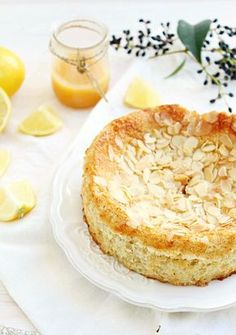 Lemon Ricotta Almond Cake