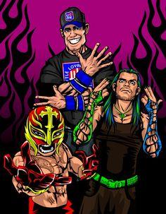 Wwe Jeff Hardy And John Cena