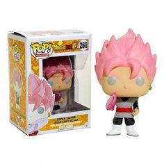 Figura Funko Pop Dragon Ball Super Saiyan Rose Goku - Exclusiva