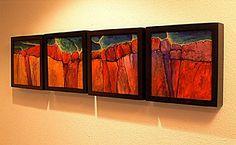 South Rim by Carol Nelson Acrylic ~ 12 x 12