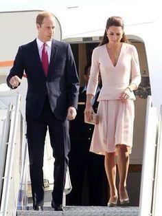 William & Kate arriving in Adelaide. April 23, 2014