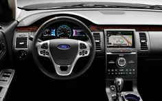The Ford Flex will be discontinued by according to Canadian auto union officials who recently negotiated a labor contract with the automaker. Ford Flex Interior, Ford Edge Suv, 2014 Ford Explorer Xlt, Ford 2015, Ford Sync, Ford Ranger Truck, Ford Trucks, Ford Fiesta St, Ford Fusion