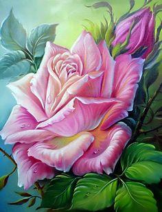 Схема вышивки «розовое чудо» - Схемы вышивки - stellа - Авторы - Портал «Вышивка крестом»