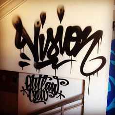 flare Vision (@vision86)! #vision #handstyle #graffiti //follow @handstyler on Instagram