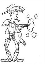 Kids-n-fun | 64 coloring pages of Lucky Luke