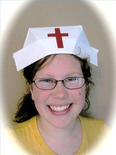 Fold a Nurse's Hat