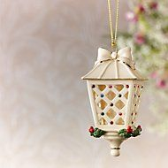 Holiday Gems Lantern Ornament by Lenox #Lenox #ornament