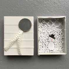 Match box, match boxes, Christmas / Luciferdoosje, luciferdoosjes, Kerstmis // VAN BRITT