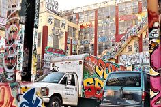 Graffiti at 5Pointz in Long Island City, Queens [my photo]