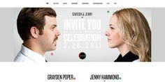 Tendance web : Réaliser un webdesign pour son mariage - webdesign-inspiration
