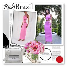 """""""Ricki Brazil 7"""" by fashionmonsters ❤ liked on Polyvore featuring Marc Jacobs, Jimmy Choo and rickibrazil"""