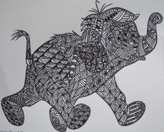 zentagle | Warning Zentangle is addictive! | A Crafty Blether - www.zentangle.com