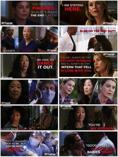 I cried so hard through this entire episode!! Cristina Yang leaving was like an end of an era. #TGIT #wheredoesthegoodgo