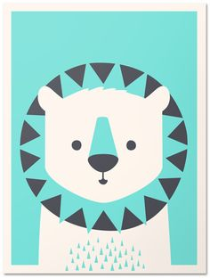 print & pattern: WALL ART - imaginary beasts