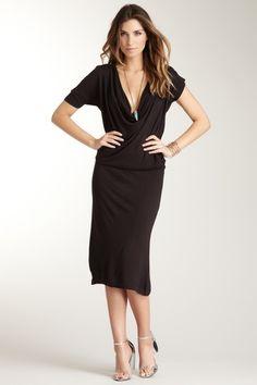 IMPROVD Black Knit Skylar Dress