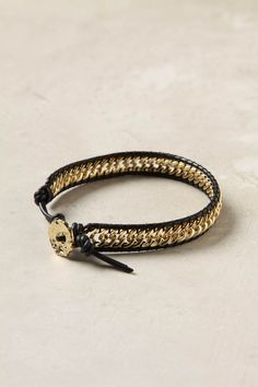 Anthro forget-me-not bracelet