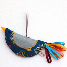Love the fabric birds also ~!~