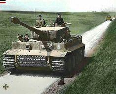 Panzer VI Ausf E  in France 1944