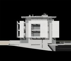 Rickmers House, Hamburg Germany (2002-08) | Richard Meier & Partners Architects